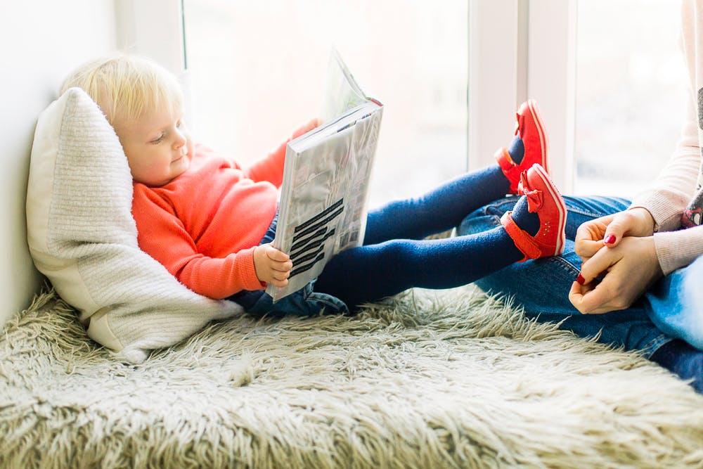 barnets bog online er en historie om barnets start